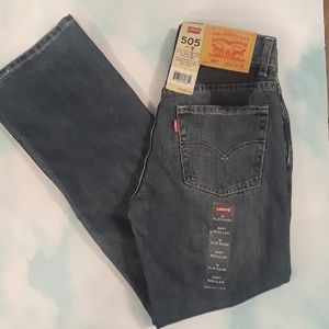 New With Tags Levi's Jeans. 505 Reg